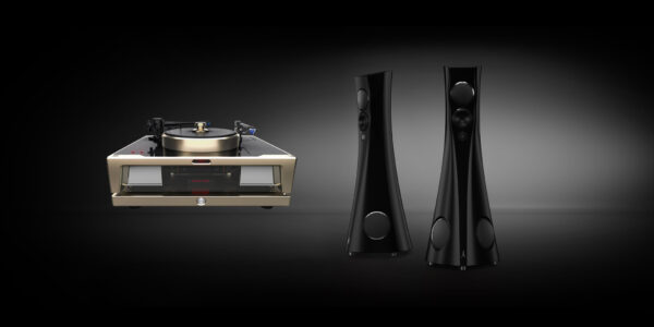 dohmann-helix-one-mk2 draaitafel en Estelon Forza speaker